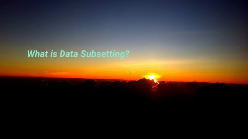 what is data subsetting